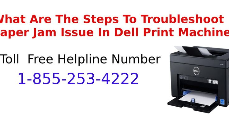Dell Printer support Canada provides you help at every stage in resolving your issues related to our product so, If you are facing any problem in dell printer machine like paper jam etc, so, you can contact our support expert and dell printer support Canada Number is 1-855-253-4222 and you can do live chat for instant solution in real time.