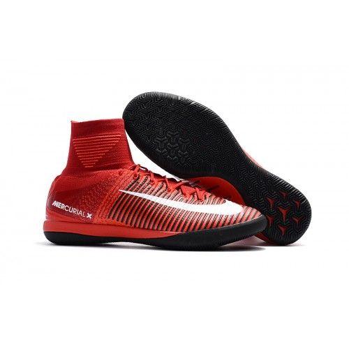 Nike Soccer Boots MercurialX Proximo II IC Red Black White