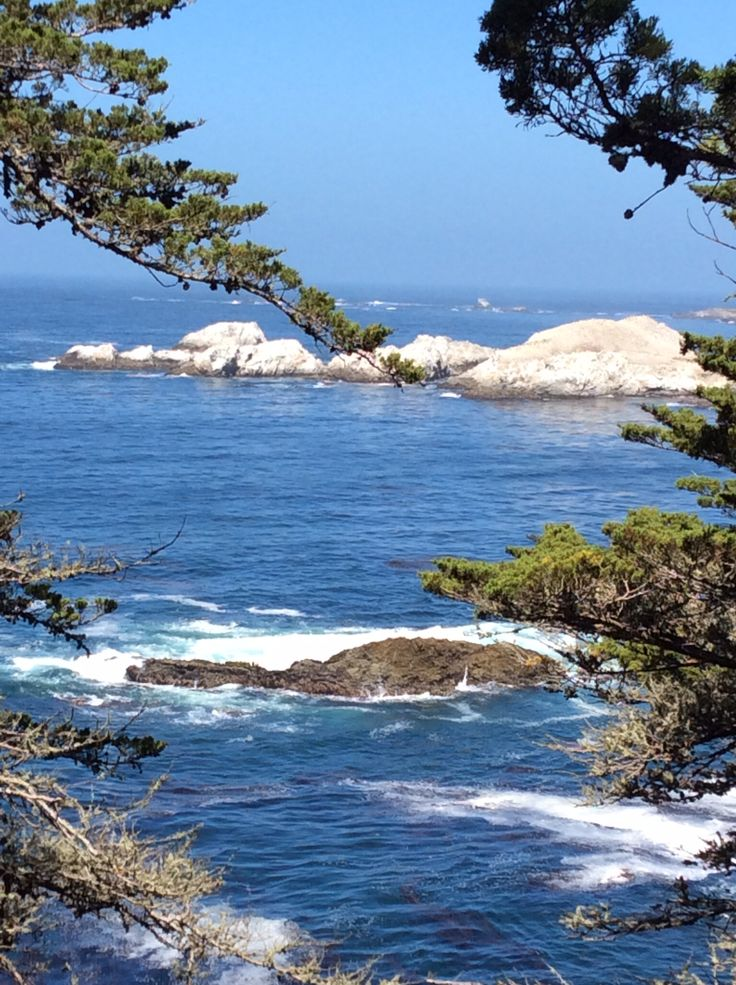 in Carmel, California on the Pacific