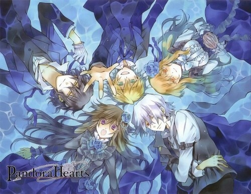 Pandora Hearts ~ one of the all time best manga EVER | Gilbert Nightray, Oz Bezarius, Sharon Rainsworth, Xerxes Break y Alice - Pandora Hearts