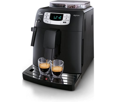 Only the Saeco Intelia super-automatic espresso machine offers you the perfect Espresso experience, easy to use, easy to customize, easy to clean. Prepare Cappuccino, Latte Macchiato, Espresso or hot water: everything is possible.