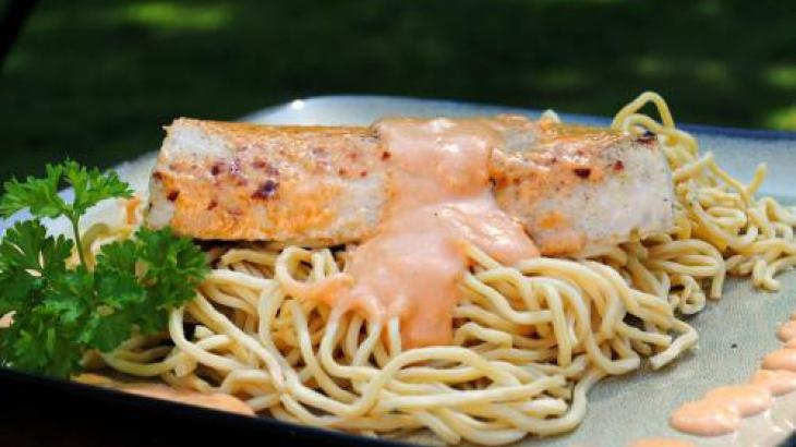 Aussie Creamy Fish! Omg I would love to try this.