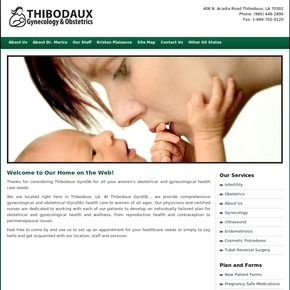 Our clinic is in Thibodaux, LA. We have an educational resource for our patients. We provide an array of topics from women's sexual health and wellness to women's reproductive health and family planning for women of all ages.