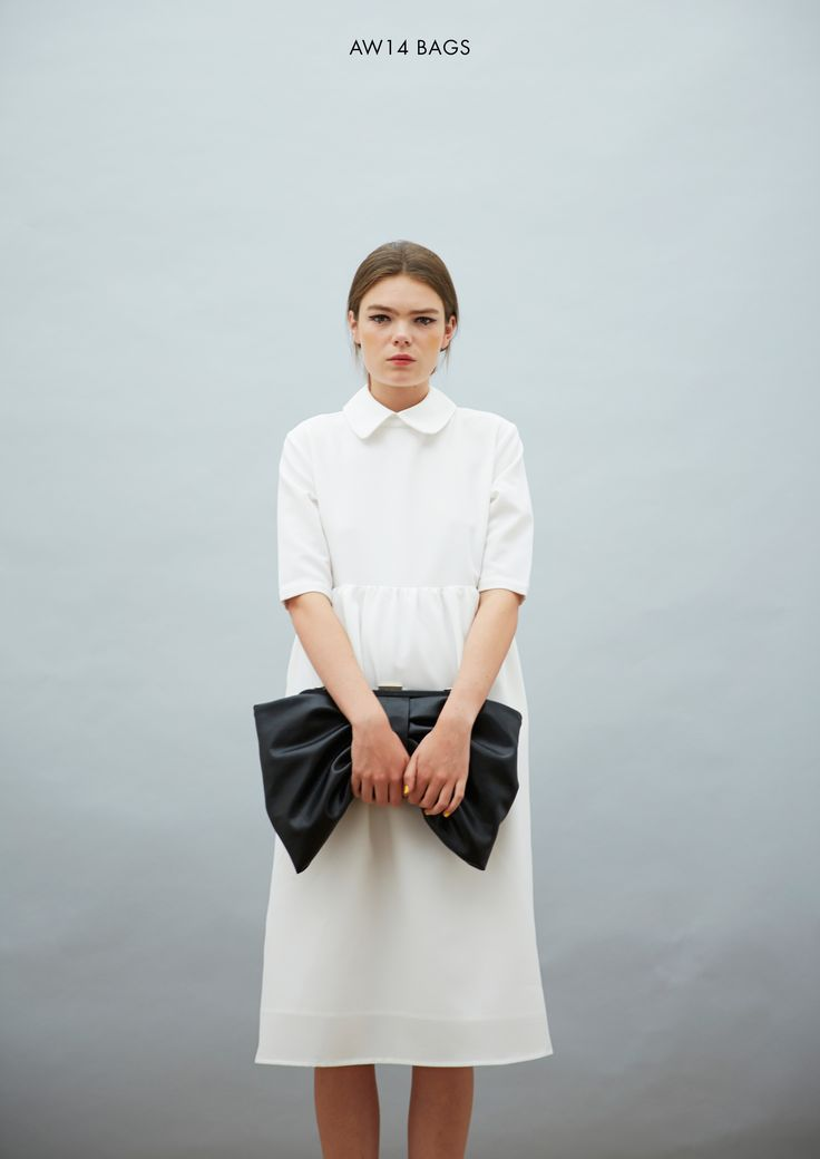 Bow Clutch Bag  http://www.thewhitepepper.com/collections/bags/products/bow-clutch-bag  #TWP