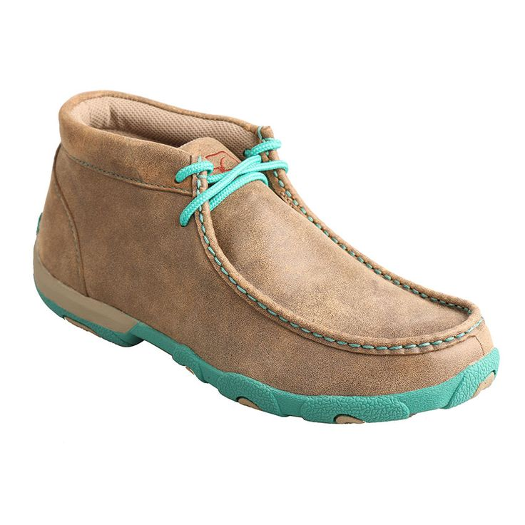 Twisted X Women's Turquoise Accented Driving Mocs