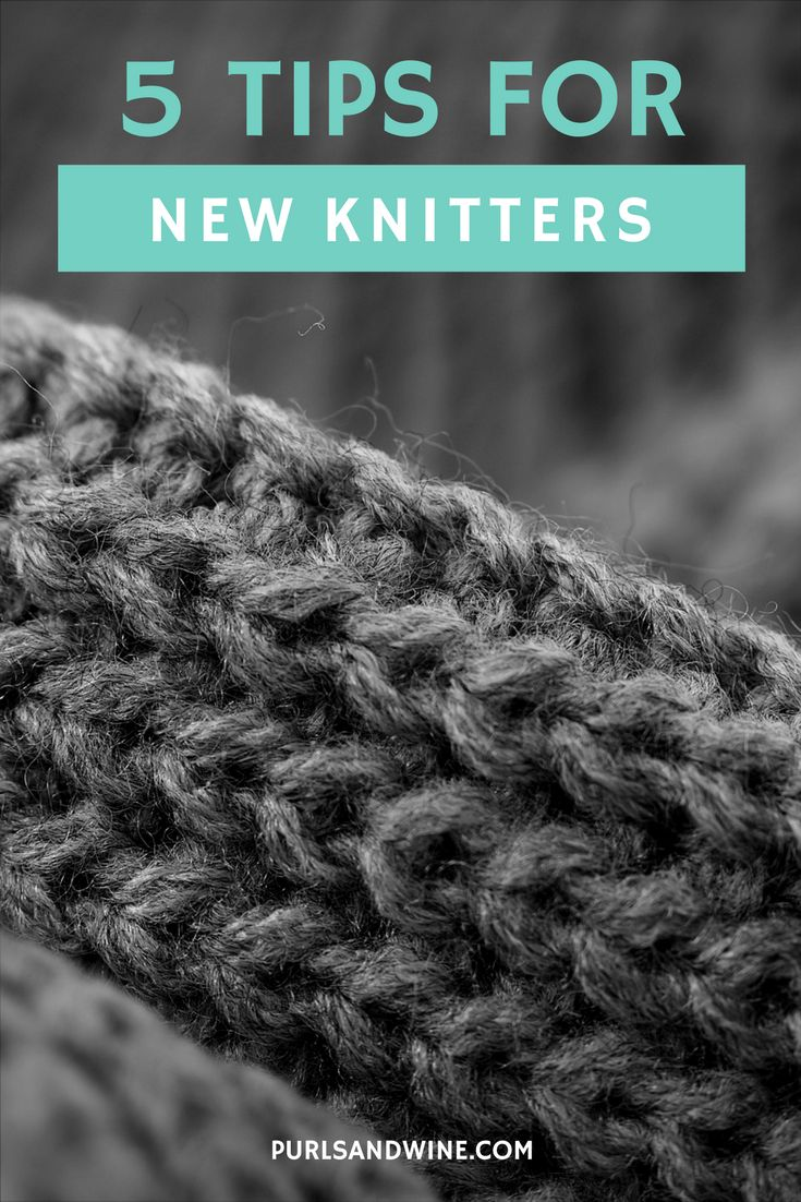 Picking up a new knitting can be a bit daunting, but all you need is yarn and needles. Here's a few tips for knitting beginners to help you get started.