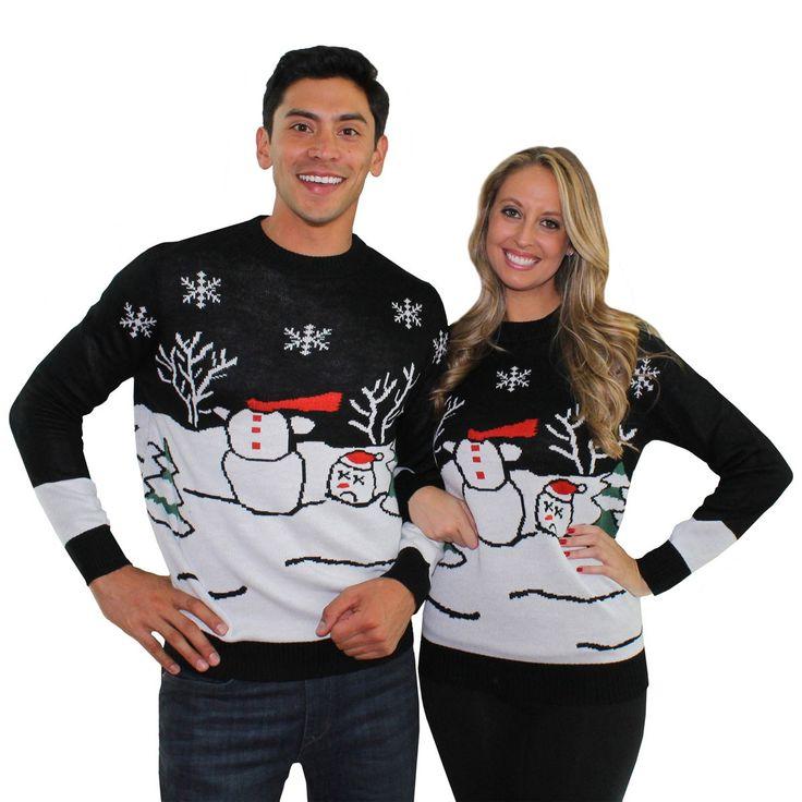 Chrismas Sweaters - Couples Style