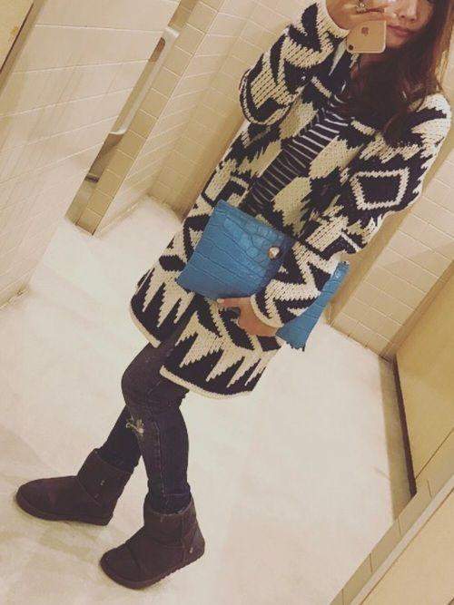 ロキシーのロングガーデはお気に入り まだまだ北海道は寒いです〜