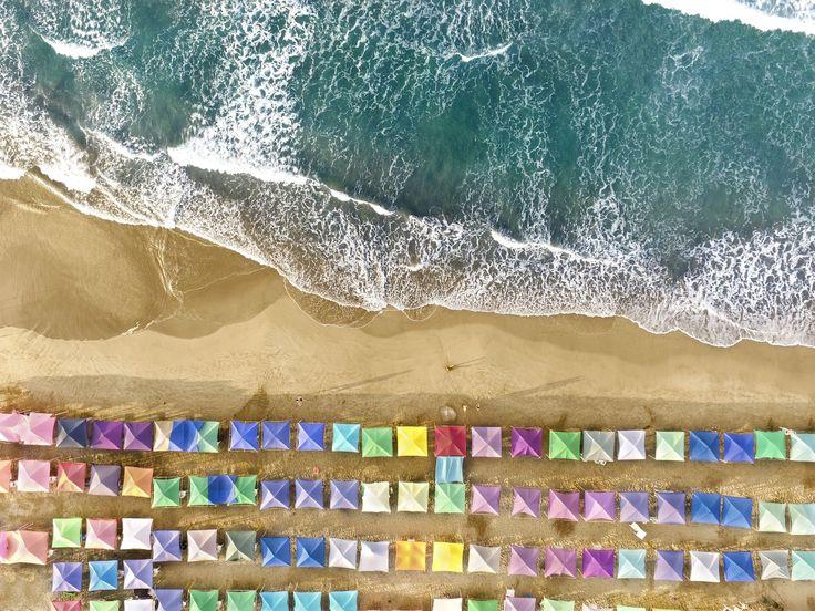 En strand i Mexico