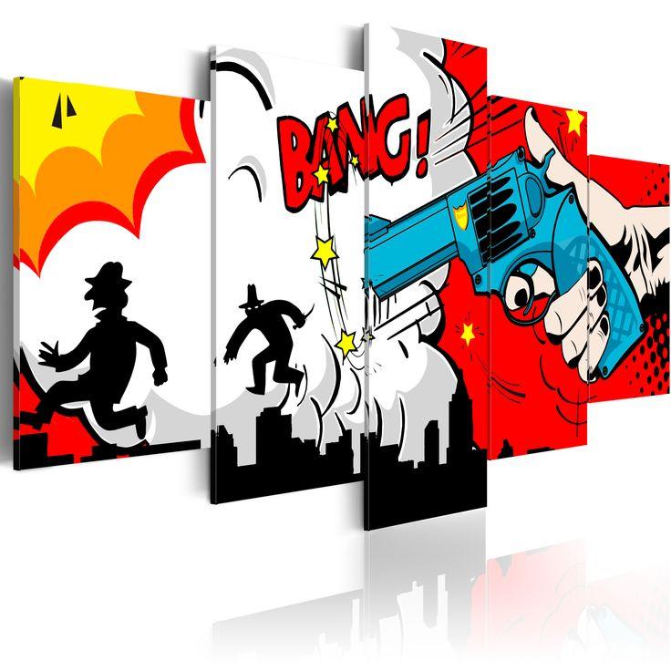 Obraz komiks #graffiti #komiks #art #draw #dekoracja #wystrój