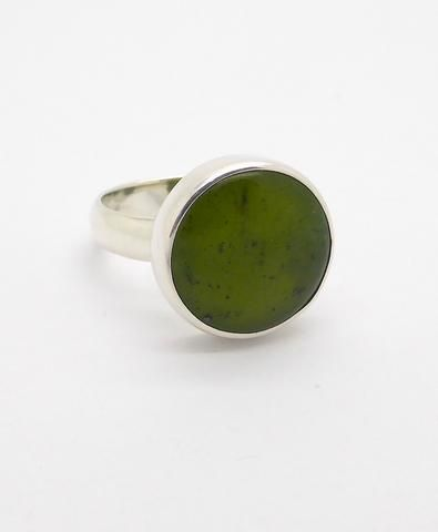 Ring Nephrite Jade NZ