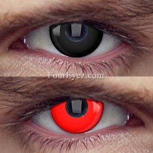 Terminator Costume Contact Lenses (Pair)