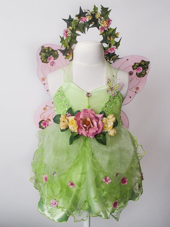 Child Fairy Costume Summer Water Lily by TinkersPennyBoutique on Etsy