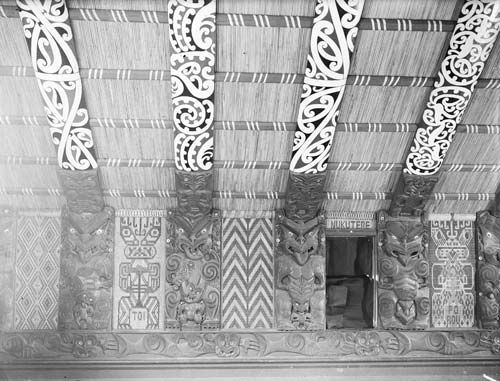Tukutuku panel depicting Toi
