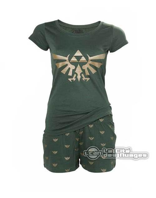 Nintendo Pyjama Hyrule pour fille S Bioworld