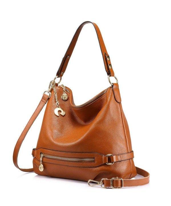 bfa137a47a Genuine Leather Handbags for Women Large Designer Ladies Shoulder ...