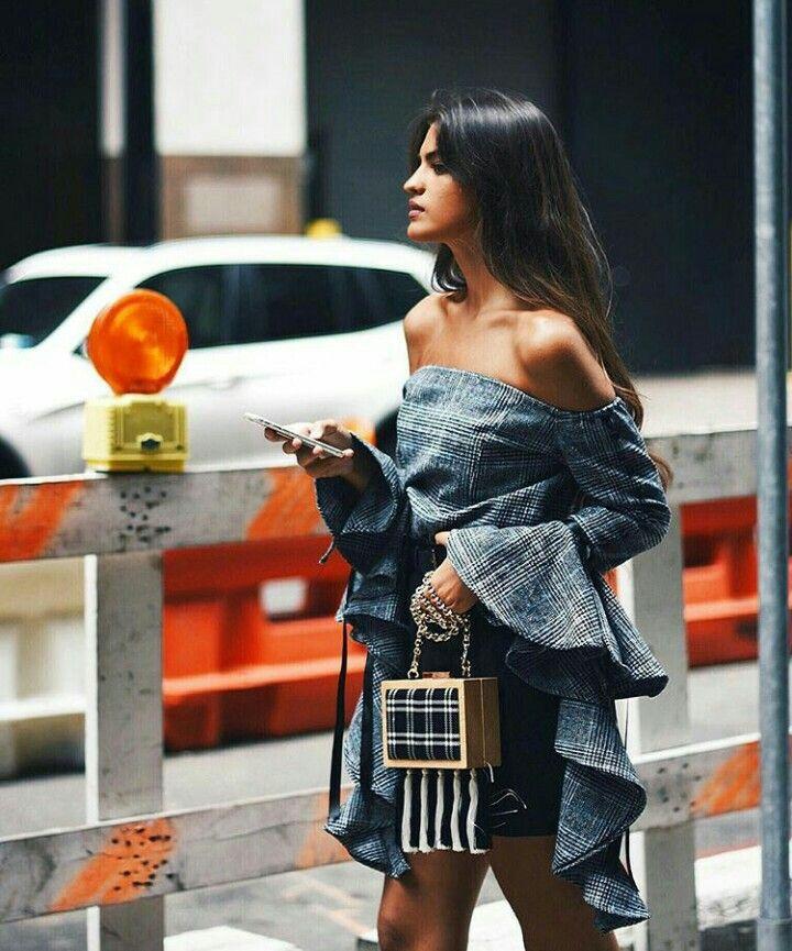 //pinterest @esib123 // #style #inspo #fashion  denim dress