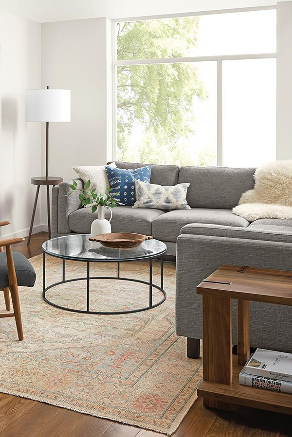 Room Board Cade Sectional Modern Sectionals Modern Living