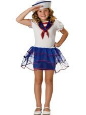 Girls Sweetheart Sailor Costume - Clearance Costumes - Toddler Girls Costumes - Baby, Toddler Costumes - Halloween Costumes - Categories - Party City