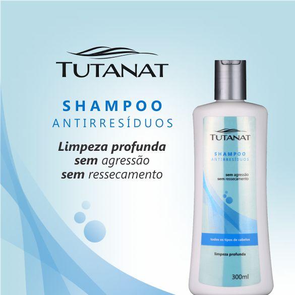 Nunca foi tão fácil deixar seus cabelos lindos, suaves e sem resíduos. Com o Shampoo Tutanat Antirresíduos que limpa profundamente os fios garantindo que fiquem sem vestígios e impurezas de óleos e produtos usados diariamente, de cloro das piscinas e poluição. Garanta vitalidade, refrescância e suavidade para toda a estação.   www.rishonloja.com.br/tipos-de-produtos/shampoos/shampoo-antirresiduos-tutanat-300ml.html  #lancamento #cabelo #shampoo #suaves #residuos #fios #hair #tutanat