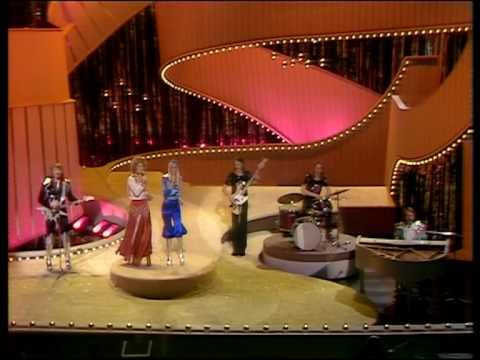 "'ABBA Waterloo Eurovision 1974 (High Quality)' ~ Sweden win The Eurovision Song Contest for the first time in 1974 at The Dome in Brighton, UK with ""Waterloo"", performed by ABBA.  lol @ 0:41  ""Their song is called.. oh and it's Napoleon!"" haha No, it's actually someone with an even better name than Napoleon! It's THE Sven-Olof Walldoff! (fyi, he was the ABBA conductor with the sideburns who dressed up as Napoleon) #lol #sweden #eurovision #abba I <3 everything about Frida in this…"