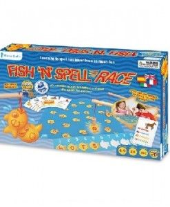 Fish n Spell Race $32.95 #sweetcreations #education #family #organisation #learning #charts
