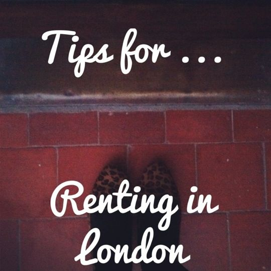 Tips for renting in London
