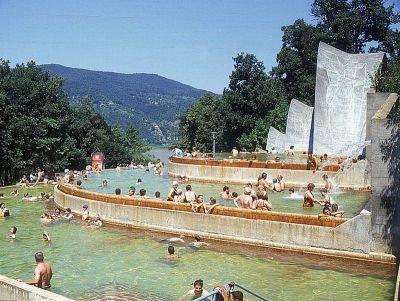 Visegrad thermal baths, Hungary