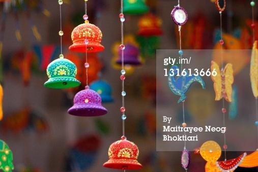 Royalty-free Image: Rajasthani wall hanging decorative sets