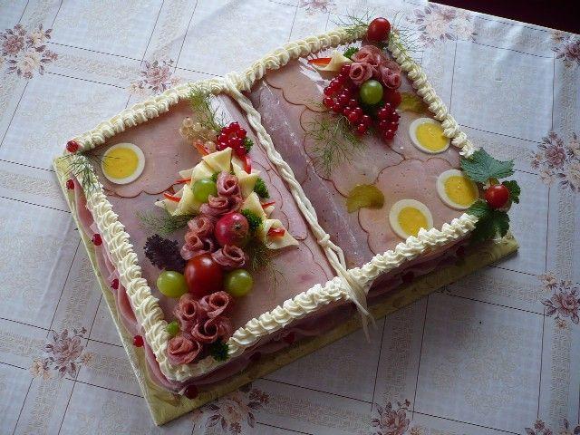 Aspiková kniha , Slané dorty   Dorty od mamy