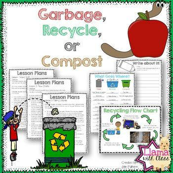 Garbage, Recycle or Compost {50% for the first 48 hours}