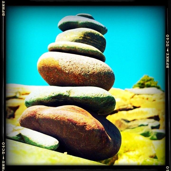 My zen at the beach