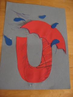 letter u craft                                                                                                                                                                                 More