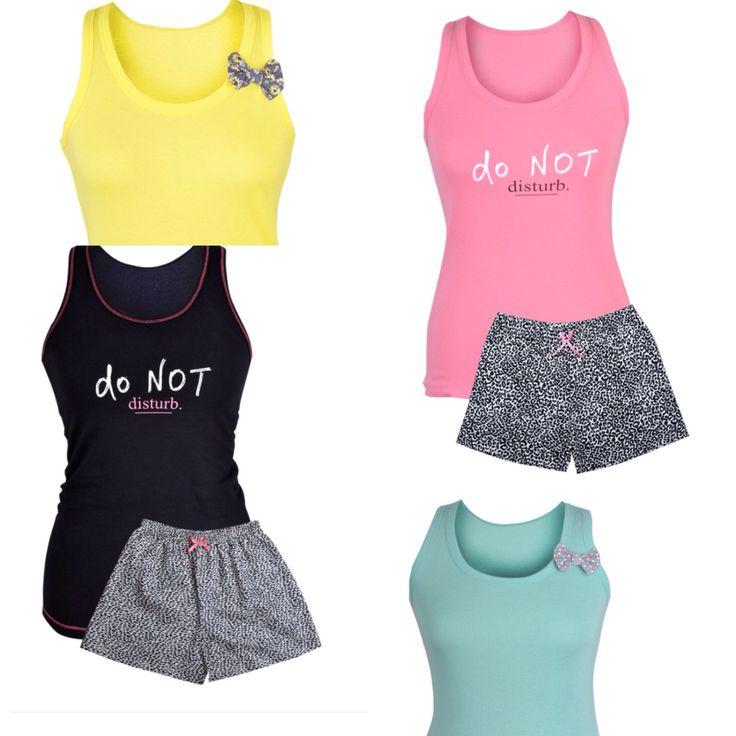 muzzy, piżamy, muzzy nightwear, lato, piżamy, pyjamas, do not disturb