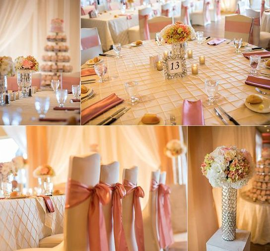 Blush pink wedding | Moncton Wedding Decor | Unico Decor