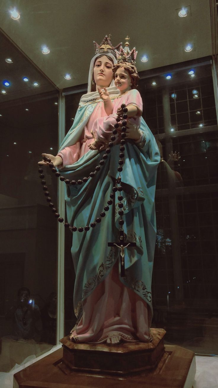 Virgen María del Rosario de San Nicolás Our Lady of the Rosary of San Nicolás Madonna del Rosario di San Nicolás Nossa Senhora do Rosario de San Nicolás Notre Dame du Rosaire de San Nicolás ロザリオの聖母 サンタクロース(Virgin of the Rosary of St. Nicholas)