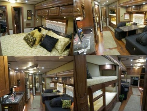 81 best big rig truck images on pinterest big trucks big rig it sleeps 8 and has 3 air conditioners in the rv for warm season rving this motorcoach has 4 slide outs some of them have car garages sciox Gallery