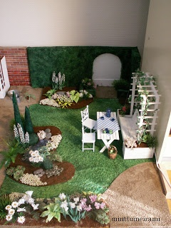"""How to make """"green grass"""" from a green towel and paint 
