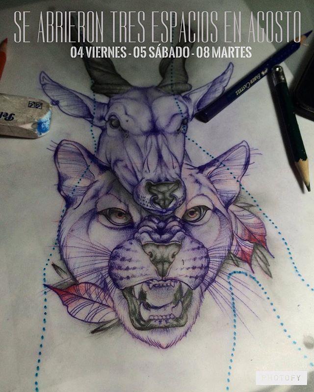 Se abrieron unos espacios para los días 04, 05 y 08 de agosto ✌️✌ Interesados escribir por interno o al 3204050078Diseño disponible puma y ciervo  Próximamente en #México personas interesadas escribir para realizar agenda --------------------------------------------#tattoo #tatuadorbogota #bogota #deertattoo #deer #tatuaje #ink #inked #tattoos #neo #neotradional #neotraditional #neotradicional #sketchanimals #sketchtattoo #sketchoftheday #sketchday #kostom #life #tattoink #deertatto…