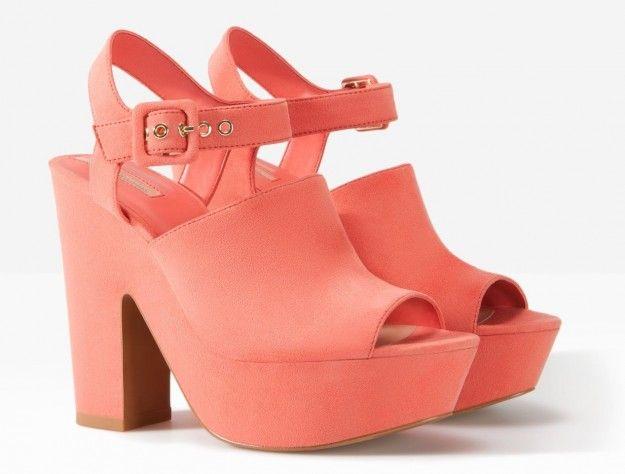 Sandali corallo