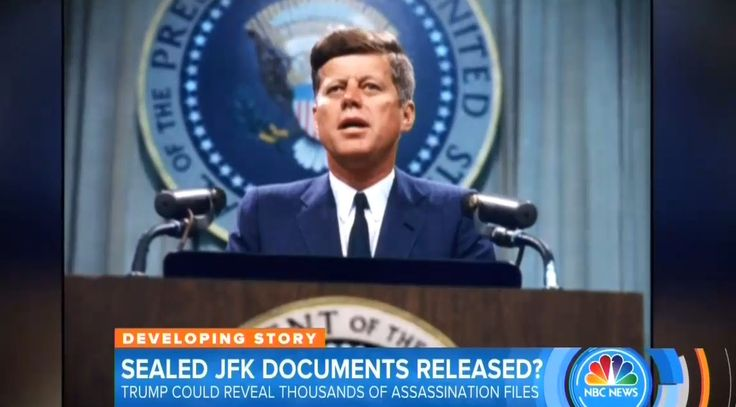 """In a bizarre story for NBC's Today on Friday, correspondent Peter Alexander preemptively attacked President Trump for possibly blocking the release of classified government files related to the assassination of President John F. Kennedy, even though the reporter acknowledged that """"no decision's been made"""" by the administration regarding the obscure bureaucratic matter."""