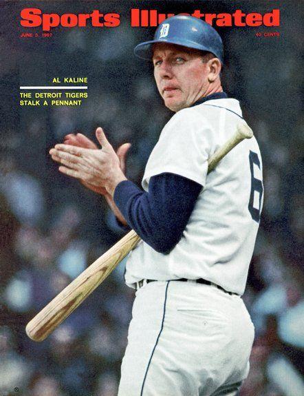 Al Kaline of The Tigers June, 05 1967