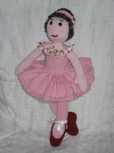 Ballerina Girl KAL- ballerina by judyzazu- pattern by Irishmagda for prawelewe {www.prawelewe.pl}