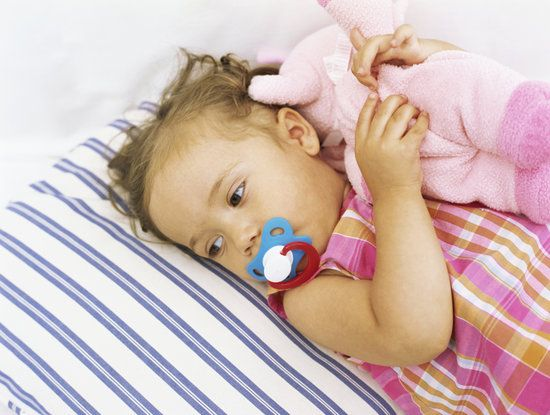 "Does your child have a security object that they're attached to? ""6 Tips for Pacifier Weaning"""