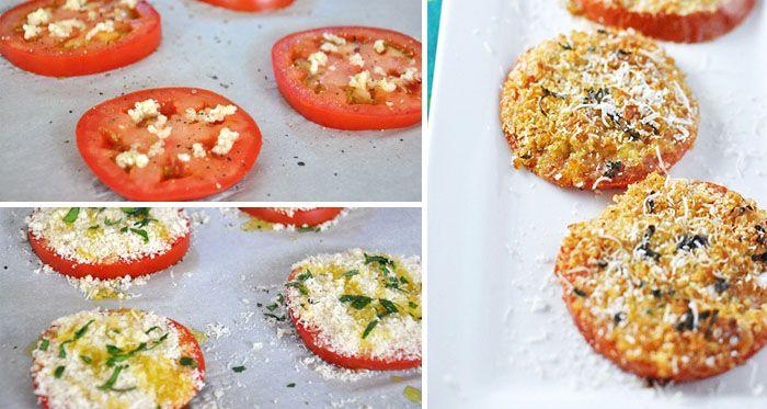 NapadyNavody.sk | Jednoduché a chrumkavé paradajkové jednohubky s cesnakom