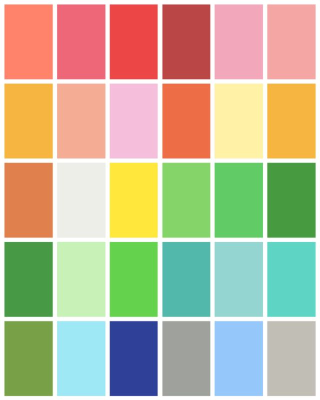 468 Best Images About Color Palettes On Pinterest