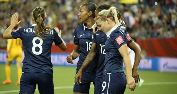 Equipes de France - Les Bleues en quarts de finale ! - FFF