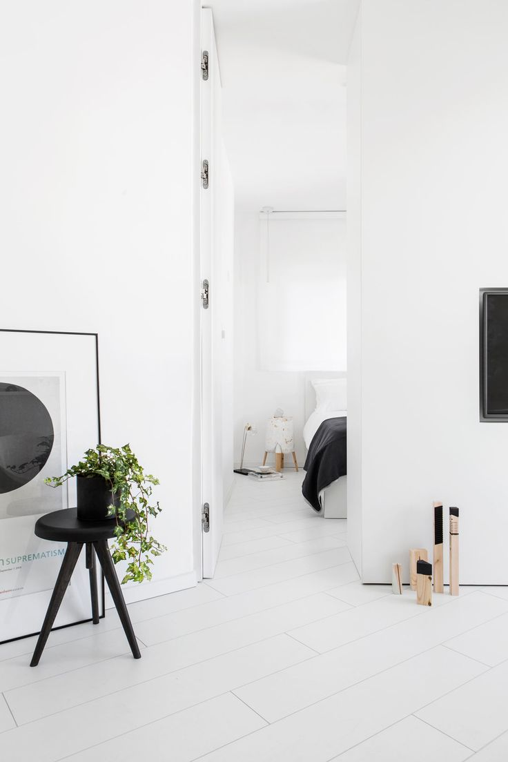 175 best interior ideas images on pinterest interior ideas a modern and minimal all white apartment