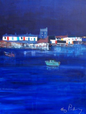 pic 5, Blue Harbour,Original Painting,size 30 x 40 inches,Cost €2.750.00. +P&P. payment by Visa or pay pal invoice.