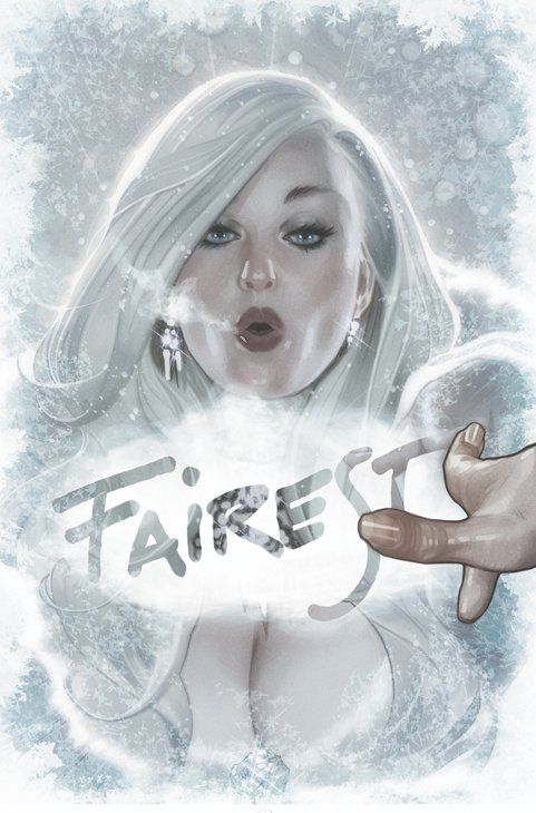 "Headline: ""Fables Spin-Off ""Fairest"" Free Preview Now Available"" (Wednesday, February 1, 2012) Image credit: Adam Hughes cover art for Fairest Issue #1 ♛ Once Upon A Blog... fairy tale news ♛"